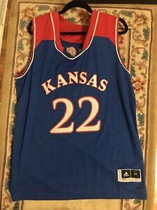 Andrew Wiggins Kansas Jayhawks Basketball Jersey-Blue