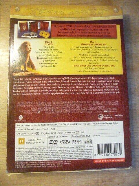 Narnia løven, heksen og garderobeskabet, DVD