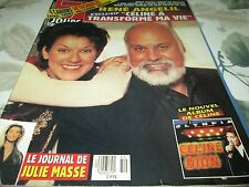 7 JOURS  CELINE  DION ON COVER NOVEMBER 1994 GEENA DAVIS TOMMY LEE JONES