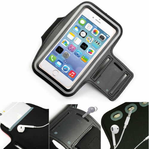 Sports Gym Armband Cover Jogging Running Arm Holder Case For All Samsung Apple