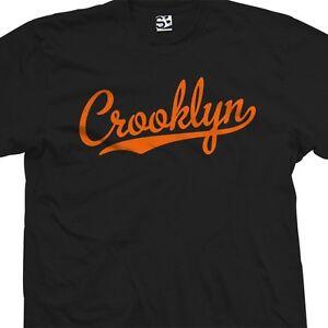 Crooklyn-Script-T-Shirt-Baseball-Tail-Team-Brooklyn-BK-NY-All-Sizes-amp-Colors