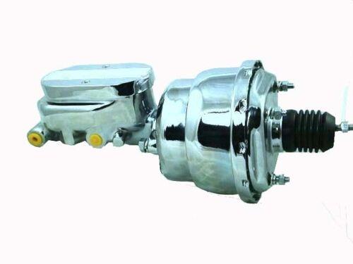 Holden HK-HT-HG Chrome Power Brake Booster /& Master Cylinder Kit New       S2