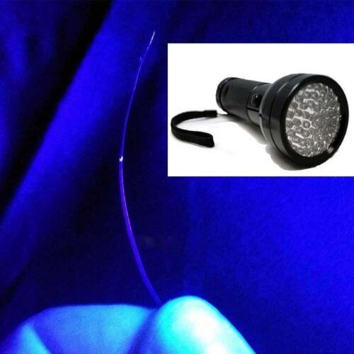 395nm 51 LED UV Blacklight Flashlight Pet Urine Stain Detector Lamp Pro Light ZH