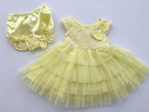 2T Easter Holiday Yellow NEW Jona Michelle Baby Toddler Girls Dress Size 24M