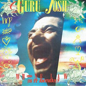 GURU-JOSH-who-the-law-is-it-anyway-7-034-Vinyl-1990-wie-Neu