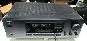 onkyo tx 8211 am fm stereo receiver nice condition ebay