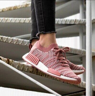 Adidas Original NMD_R1 STLT PK Women's Running Shoes CQ2028 AUHENTIC!!! | eBay