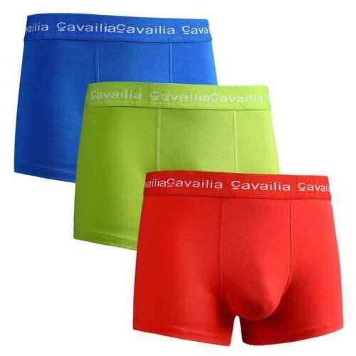 3,6,12 Packs Men/'s Underwear Trunks Cotton Rich Boxer Shorts Pieces  S,M,L,XL