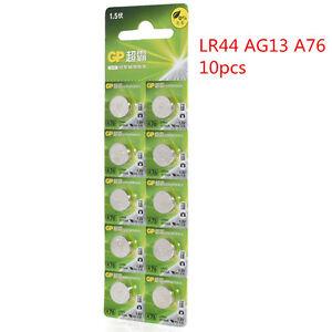 10pcs-1-5V-GP-LR44-AG13-A76-SR66-Button-Cell-Coin-Battery-Batteries-NEW