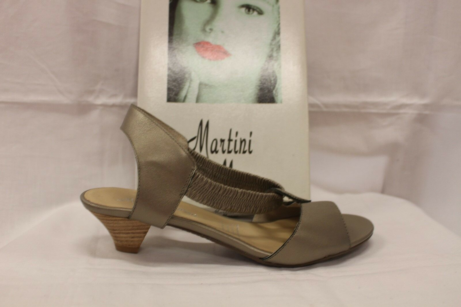 LADIES SHOES/FOOTWEAR - Martini Marco Andre pewter size 38/7