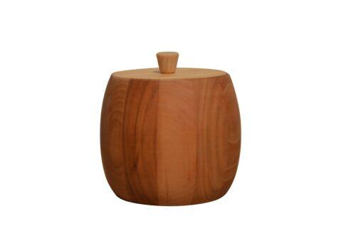 Azucarera Con Tapa De Madera-Estilo clásico barril de almacenamiento de cocina T2
