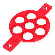 Non Stick Flippin' Fantastic Nonstick Silicone Pancake Maker Egg Ring Maker