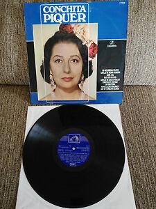 Conchita-Piquer-Die-Voz-Unforgotten-de-Vol-2-LP-vinyl-12-034-Spanisch-Ed-G-1967