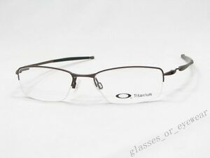 image is loading eyeglass frames oakley transistor 22 150 brown 51mm