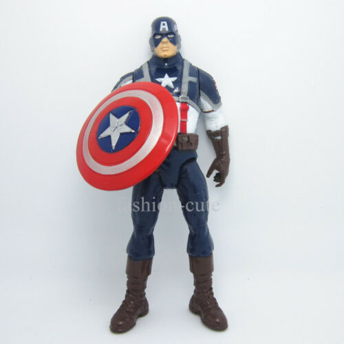 "New The Avengers Captain America Action figure shiled Movie 19.5 cm 7.7/"" inch"