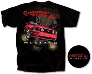 034-Chompin-039-at-the-Bit-034-Ford-Mustang-T-Shirt-Officially-Licensed-CLOSEOUT-SAVE
