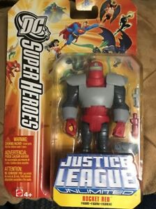 Rocket Red Mattel Justice League Unlimited DC  4.75 Superheroes