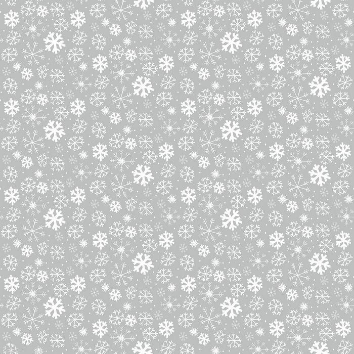 2.2M 218CM PVC PULITO A LUCIDO NATALE NEVE argentoO Tovaglia di tela cerata CO