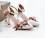 Womens-Floral-Ankle-Strap-Pointy-Toe-High-Heel-Shoes-Sweet-Stilettos-Pumps-New