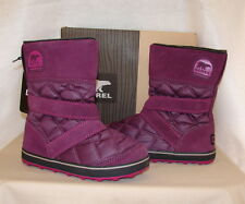 SOREL GLACY SLIP ON Waterproof Winter Boots   Women's 7   NIB