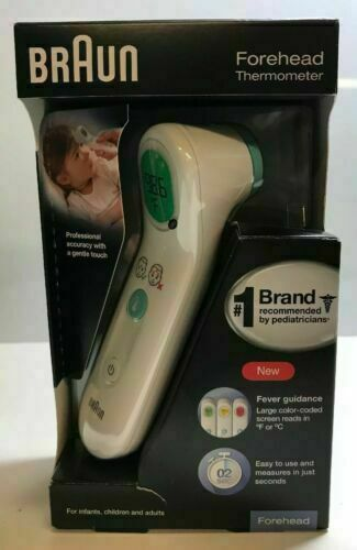 BRAUN Baby, Teen, Adult - Forehead ThermometerBFH175 - N