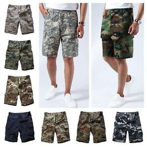 Mens-Army-BDU-Shorts-Summer-Casual-Camo-Cargo-Shorts-for-Camp-fishing-hunt
