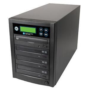1-3 DVD/CD Multiple Discs Burner Recorder Duplicator 500GB HDD & USB 3.0