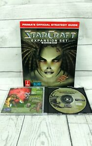 StarCraft Brood War Expansion Discs Only with Strategy Guide