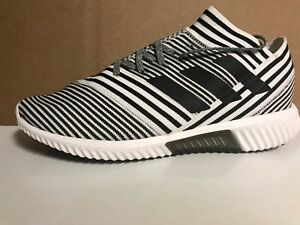 bfaa5ec022 Details about Adidas Nemeziz Tango 17.1 Trainer White/Black Shoes BB3659 US  10.5 Men's