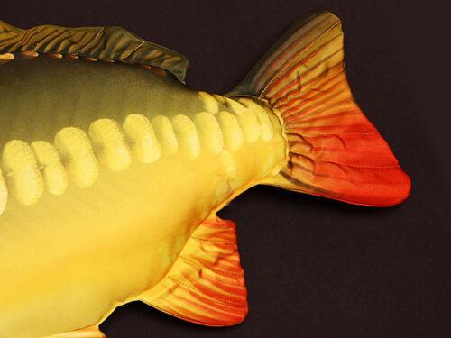 90cm  Fisch Kissen Kuscheltier Angler 61cm GABY DER KARPFEN Stofftier 35cm