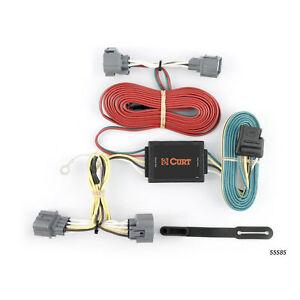 curt custom vehicle to trailer wiring harness 55585 for 06 14 honda rh ebay com honda ridgeline wiring harness recall honda ridgeline trailer hitch wiring harness