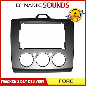 DFP-07-17 Double Din Car Stereo Fascia Panel Surround for FORD Focus 2007 On