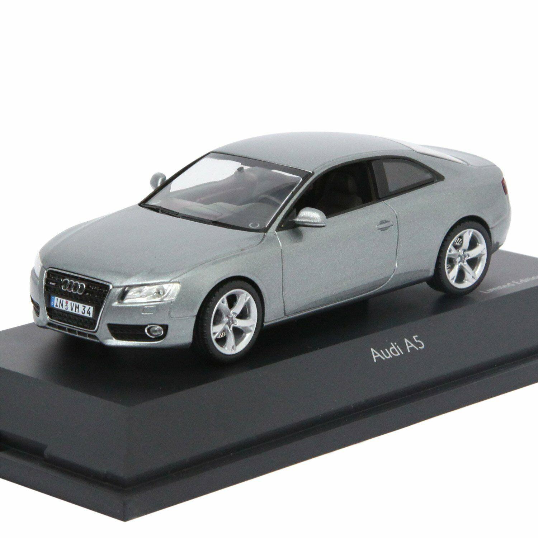 Schuco 450479900 - Audi A5, Coupe, Quartz Grey Metal - 1 of 1000 Pcs Ovp - 1 43