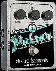 Electro-Harmonix Stereo Pulsar Tremolo Guitar Effect Pedal - $82.99