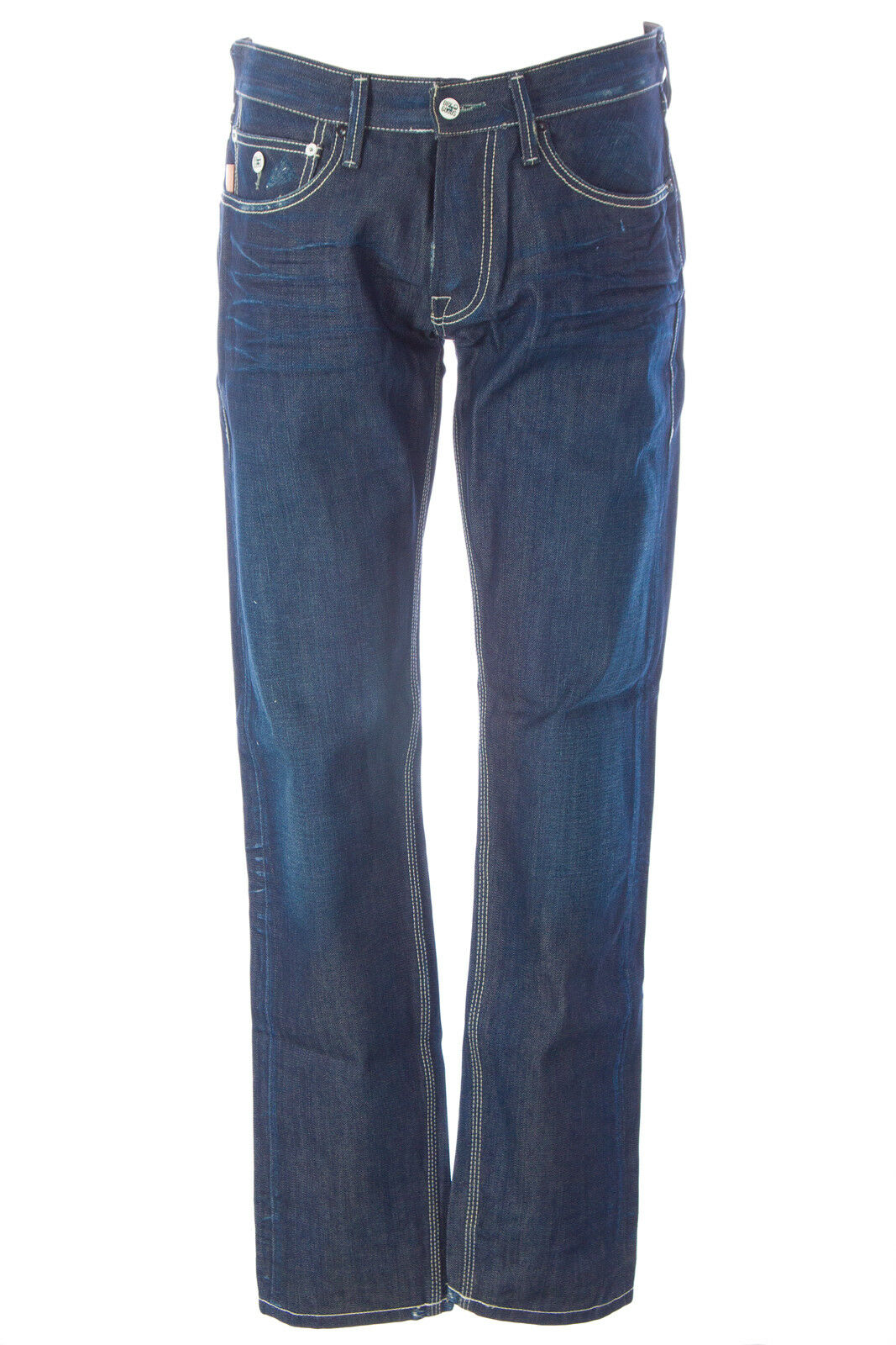 blueE BLOOD Men's Focus CBR Denim Button Fly Jeans MS08D21 NWT