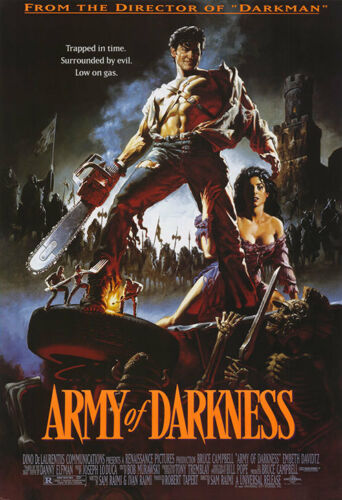 CLASSIC MOVIE POSTER 24x36-44853 ARMY OF DARKNESS