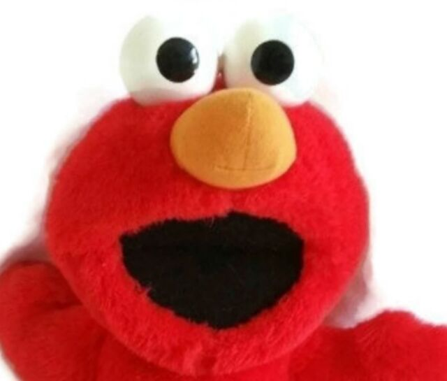 "Tickle Me Elmo Fisher Price 1996 15"" Laughing Shaking Giggling Plush Doll Vtg"