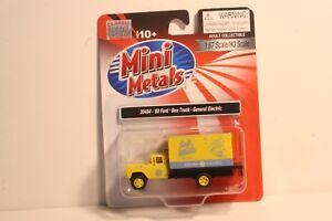 HO-30484-Classic-Metal-Works-Mini-Metals-039-60-Ford-Box-Truck-General-Electric