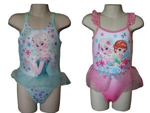 Filles Disney Maillot de bain Frozen Character Swimming Costume