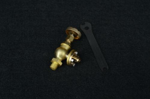 "1//4-40 pipe 90 Globe Valve Flange type for live steam GV-B1/""New/"""