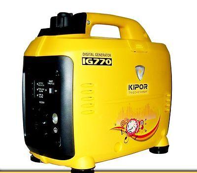 KIPOR IG770 DIGITAL INVERTER GENERATOR STROMERZEUGER extra leicht - tragbar