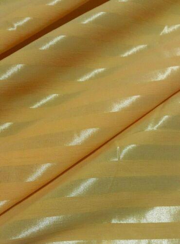 Tejido Elástico Camisa a Rayas Amarillo Brillante-vendido por el medidor