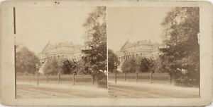 UK Londra? A Identificare Palais, Foto Stereo Vintage Albumina Ca 1865