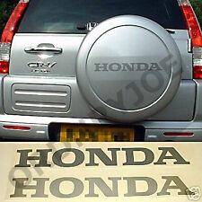 HONDA decal /sticker (CRV CR-V) Silver or grey