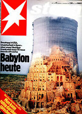 Magazin STERN  Nr 47 von 1979, Atomkraftwerke; Fotoalbum eines Herrenmenschen