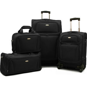 Samsonite 4 Piece Lightweight Luggage Set (28 Inch, 20 Inch   ...