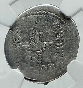 MARK-ANTONY-Cleopatra-Lover-32BC-Ancient-Silver-Roman-Coin-LEGION-IV-NGC-i79190