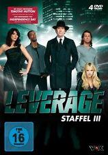 4 DVDs *  LEVERAGE - STAFFEL 3 - Timothy Hutton  # NEU OVP &