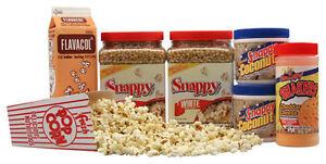 Basic-Home-Theater-Popcorn-Machine-Supplies-Kit-White-corn