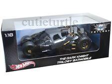 Hot Wheels The Dark Knight Trilogy Batmobile Tumbler Batman 1:18 Black BMH74
